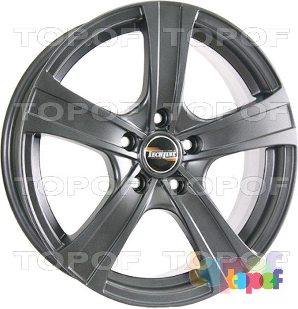 Колесные диски TECH Line 619. Цвет черный
