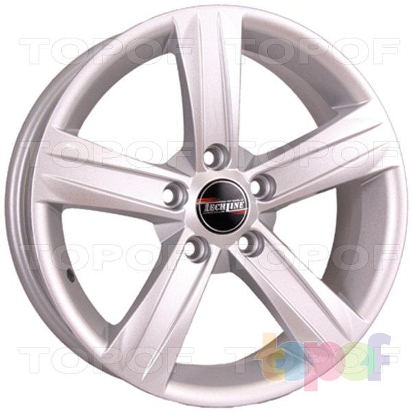 Колесные диски TECH Line 628. Цвет колесного диска - Silver (Серебристый)