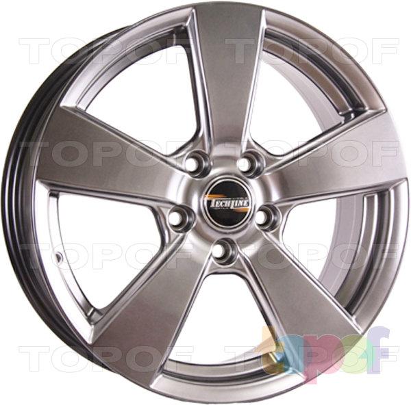 Колесные диски TECH Line 631. Цвет HP