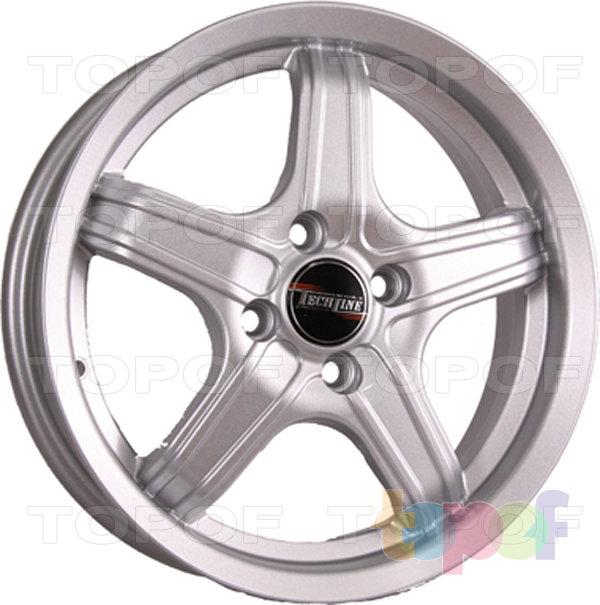 Колесные диски TECH Line 636. Цвет серебристый