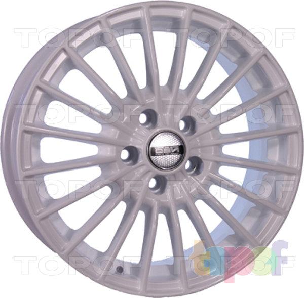 Колесные диски TECH Line 637. Цвет белый