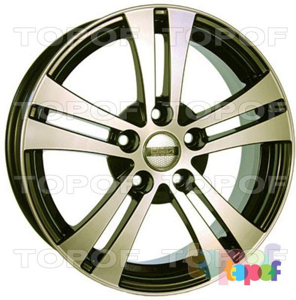 Колесные диски TECH Line 640. Цвет GRD