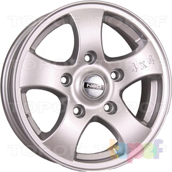 Колесные диски TECH Line 641. Цвет серебристый