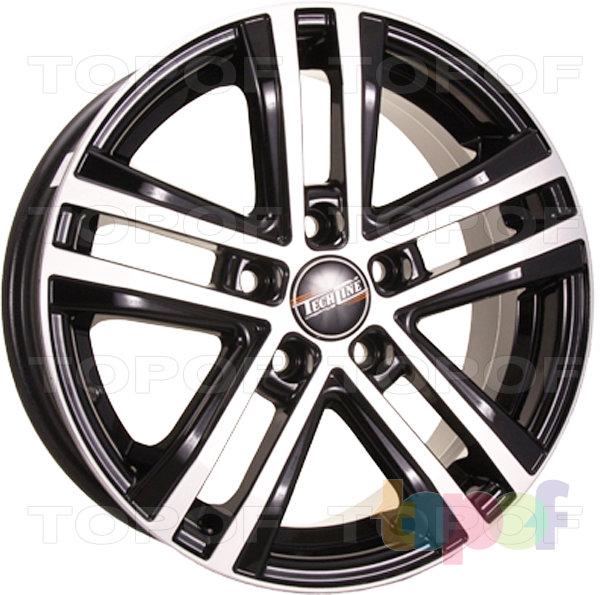 Колесные диски TECH Line 645 6.5x16 5*114.3 ET45 d.60.1 silver