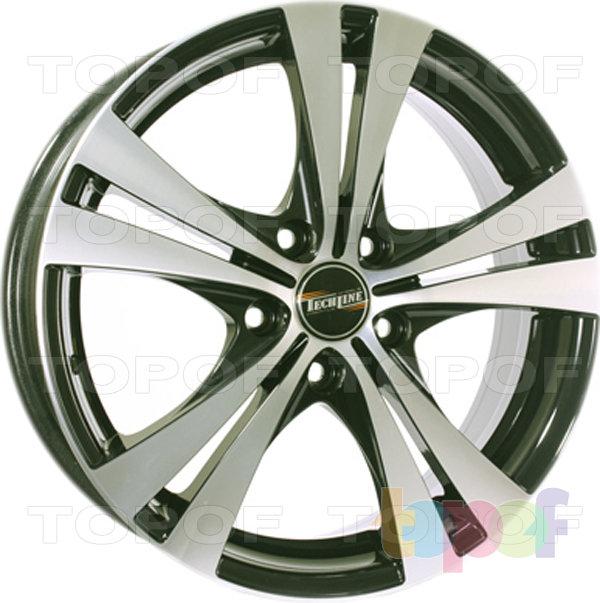Колесные диски TECH Line 716. Цвет серебристый