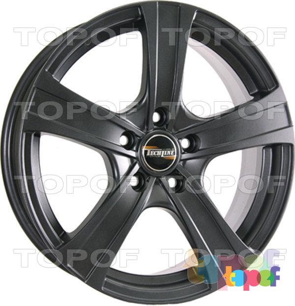 Колесные диски TECH Line 719. Цвет черный