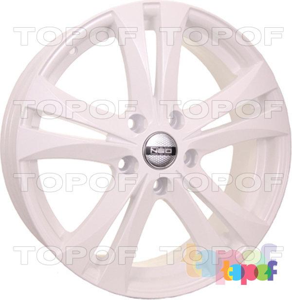 Колесные диски TECH Line 744. Цвет белый