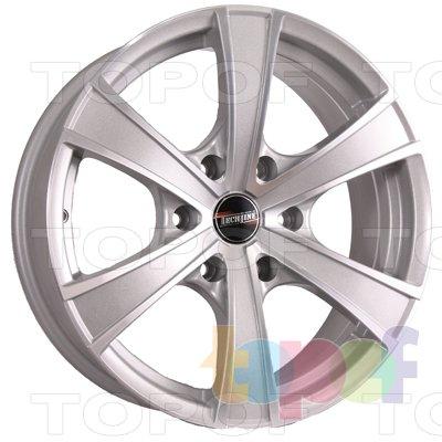 Колесные диски TECH Line 803. Цвет колесного диска - SD (Светло-серебристый)