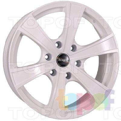 Колесные диски TECH Line 803. Цвет колесного диска - White (Белый)