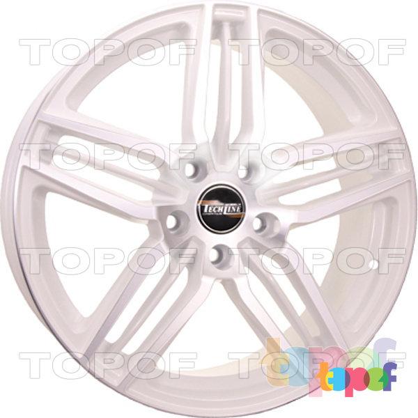 Колесные диски TECH Line 806. Цвет WD
