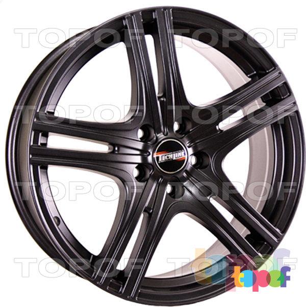 Колесные диски TECH Line 810. Цвет черный