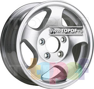 Колесные диски TGRacing 4866. Изображение модели #1