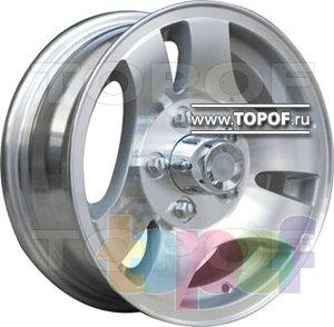 Колесные диски TGRacing LZ002. Изображение модели #1