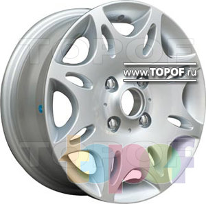 Колесные диски TGRacing LZ004. Изображение модели #1