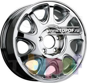 Колесные диски TGRacing LZ014. Изображение модели #1