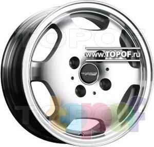 Колесные диски TGRacing LZ017. Изображение модели #1