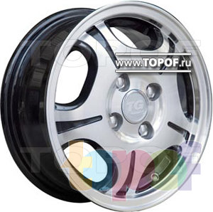 Колесные диски TGRacing LZ018. Изображение модели #2