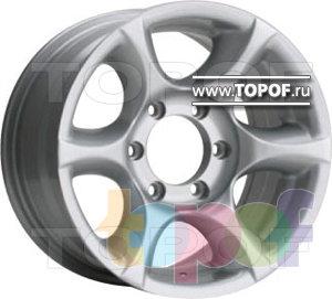 Колесные диски TGRacing LZ026. Изображение модели #1