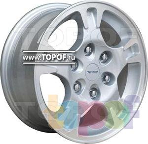 Колесные диски TGRacing LZ027. Изображение модели #1