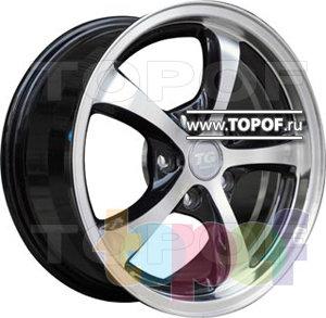 Колесные диски TGRacing LZ033. Изображение модели #2