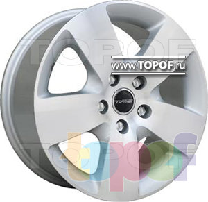 Колесные диски TGRacing LZ036. Изображение модели #1