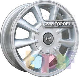 Колесные диски TGRacing LZ073. Изображение модели #1