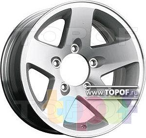 Колесные диски TGRacing LZ091. Изображение модели #1