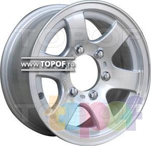 Колесные диски TGRacing LZ152. Изображение модели #1