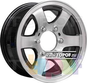 Колесные диски TGRacing LZ152. Изображение модели #2