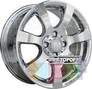 Колесные диски TGRacing LZ157. Изображение модели #2