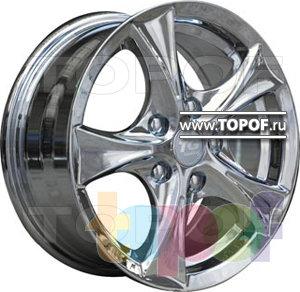 Колесные диски TGRacing LZ161. Изображение модели #2