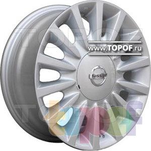 Колесные диски TGRacing LZ172. Изображение модели #1