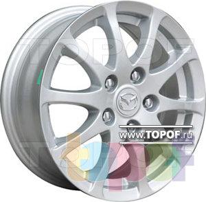 Колесные диски TGRacing LZ174. Изображение модели #1