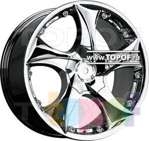 Колесные диски TGRacing LZ202. Изображение модели #1