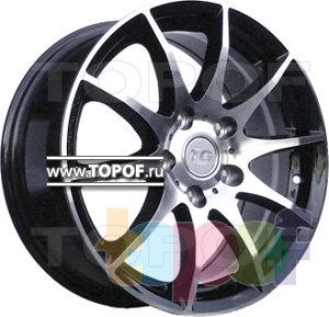 Колесные диски TGRacing LZ203. Изображение модели #1