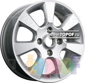 Колесные диски TGRacing LZ209. Изображение модели #1