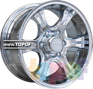 Колесные диски TGRacing LZ211. Изображение модели #2