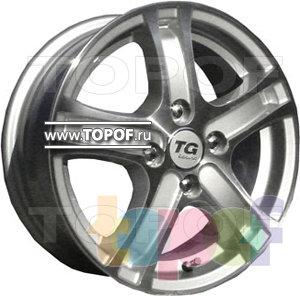 Колесные диски TGRacing LZ255. Изображение модели #1