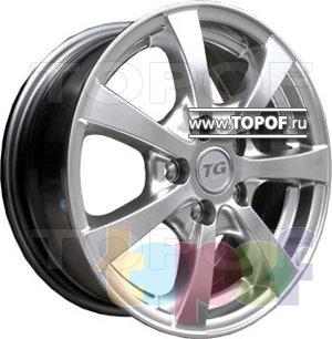 Колесные диски TGRacing LZ256. Изображение модели #2