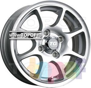 Колесные диски TGRacing LZ257. Изображение модели #1