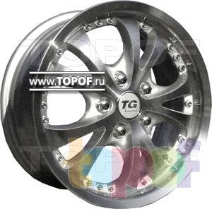 Колесные диски TGRacing LZ260. Изображение модели #1