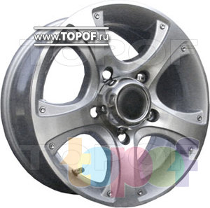 Колесные диски TGRacing LZ271. Изображение модели #1