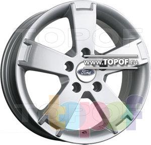 Колесные диски TGRacing LZ296. Изображение модели #1
