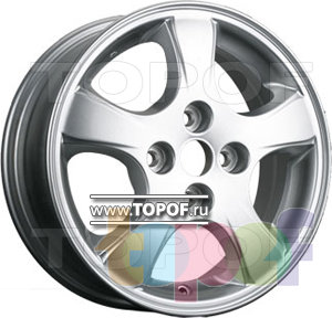 Колесные диски TGRacing LZ359. Изображение модели #1