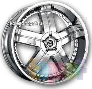 Колесные диски TIS 01. Изображение модели #1