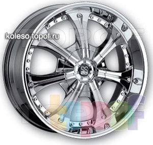 Колесные диски TIS 02. Изображение модели #1