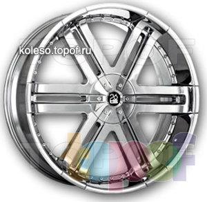 Колесные диски TIS 04. Изображение модели #1