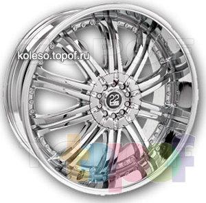 Колесные диски TIS 07. Изображение модели #1