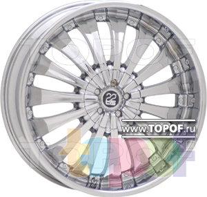 Колесные диски TIS 08. Изображение модели #1