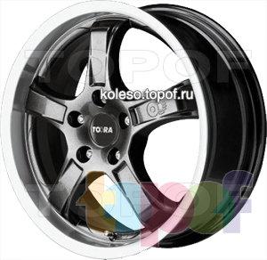 Колесные диски Toora T550. Изображение модели #1